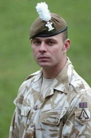 Corporal Richard Thomas Pask of The Royal Welsh