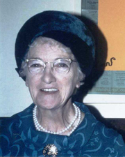 Beryl Morgan née Pask